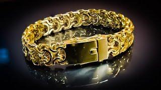 Изготовление замка на мужской браслет