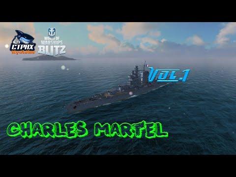 WOWS BLITZ ФЛОТ СТРАХ: Charles Martel VIII