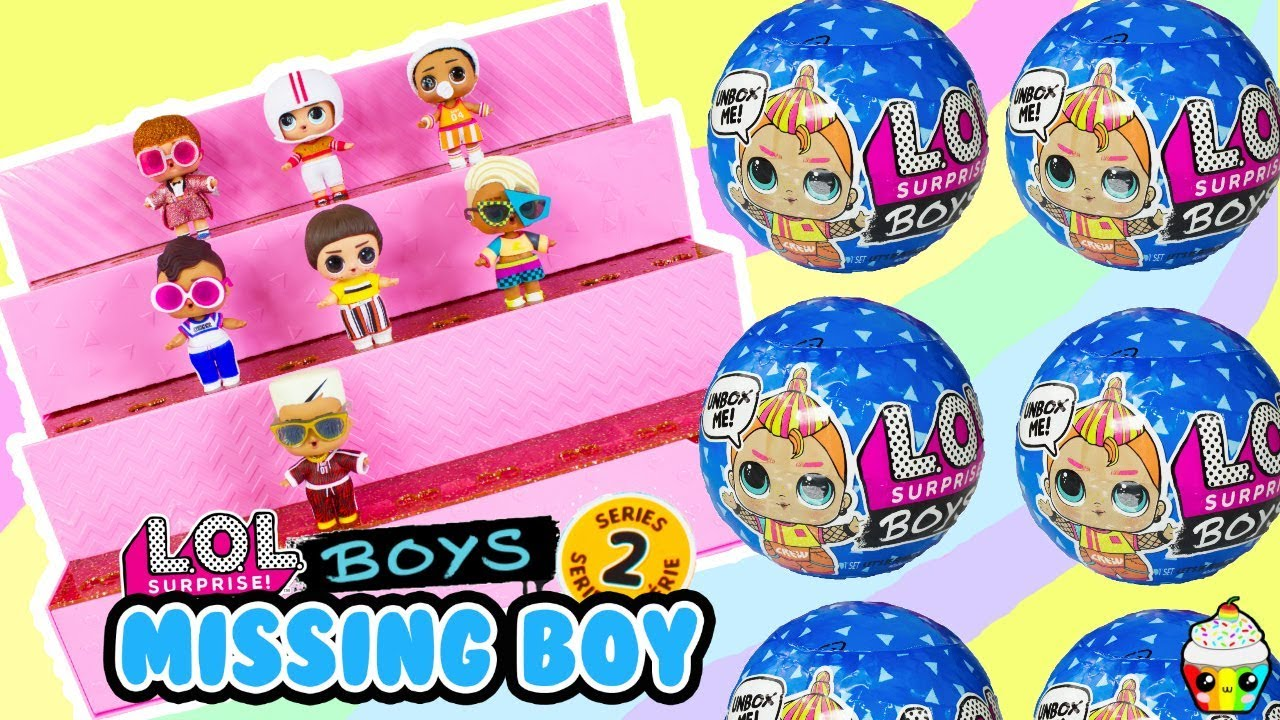 Lol Boys Series 2 Complete Series The Hunt For Missing Lol Boy