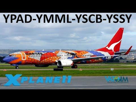 X-Plane 11 | 20K SUB Celebration! | B737 A320 C550 | VATSIM | Adelaide, Melbourne, Canberra & Sydney