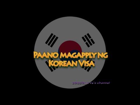 How To Apply For A Korean Visa | Korea | Tour | Oppa