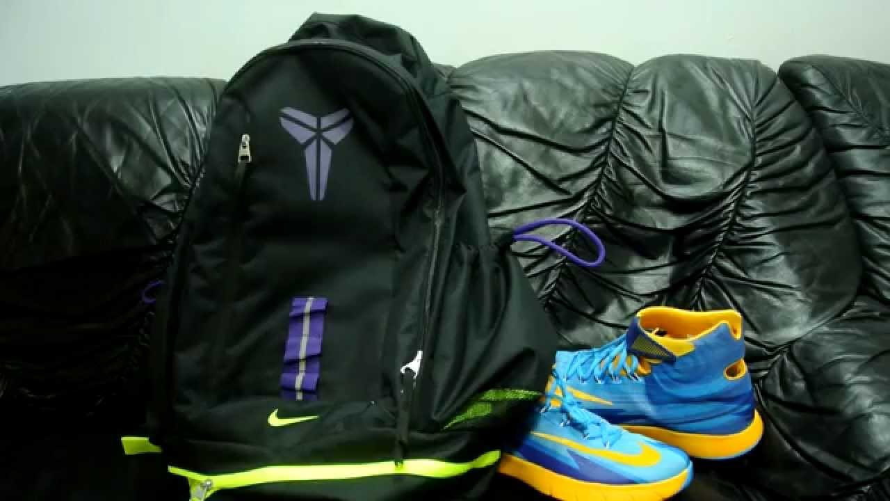 2b0cb0aa8aca Nike Kobe Mamba Backpack Review - YouTube
