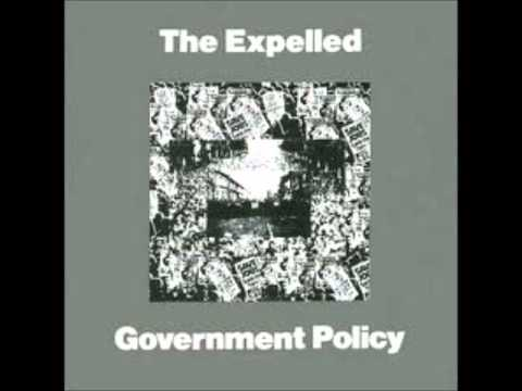 THE EXPELLED  - GOVERNMENT POLICY EP 1981