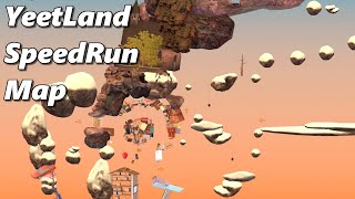 YeetLand Map Showcase - New Speedrun Level - MODDED Getting Over It With Bennett Foddy
