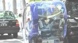 アニメ「戦国BASARA弐」の伊達政宗と片倉小十郎のイラストが描かれたベ...