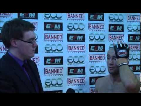 ECC BANNED I: Post Fight Interview: Ste Nightingale
