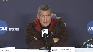Frank Martin NCAA Sweet 16 News Conference — 3/23/17