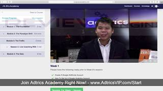 Adtrics Academy Review & Members Area [DEMO] - How It Works?