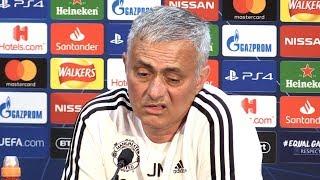 Jose Mourinho Full Pre-Match Press Conference - Manchester United v Juventus - Champions League
