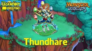 Monster Legends - How To Get Thundhare (Legendary) + Combat