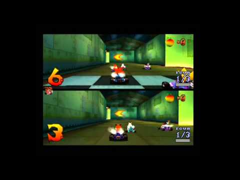 [RETRO-GAMING] Crash Team Racing - France VS Suisse !