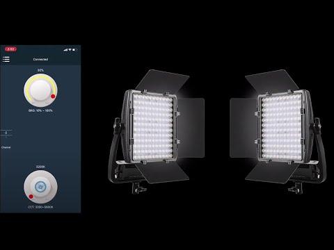 GVM LT 50S Bi-Color Dimmable LED Video Light Panel