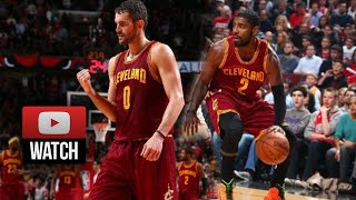 Kyrie Irving & Kevin Love Highlights at Bulls (2014.10.31) - 39 Pts, 17 Reb Total!