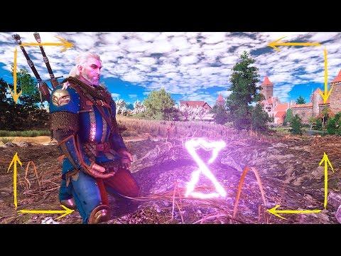 Как использовать знаки в ведьмаке 3