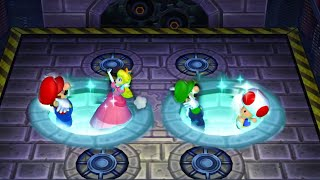 Mario Party 9 Garden Battle - Luigi vs Peach vs Mario vs Toad| Cartoons Mee