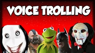 Jigsaw Vs Jeff The Killer! Black Ops 2 Voice Trolling With Jigsaw, Bane, Batman & Kermit The Frog