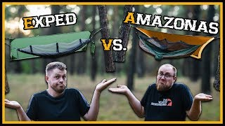 Ultimativer Hängematten Vergleich: Exped vs. Amazonas - Review Outdoor Bushcraft