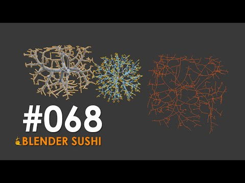 BLENDERSUSHI / SV Elfnor Tree Generator (LIVENODING068)