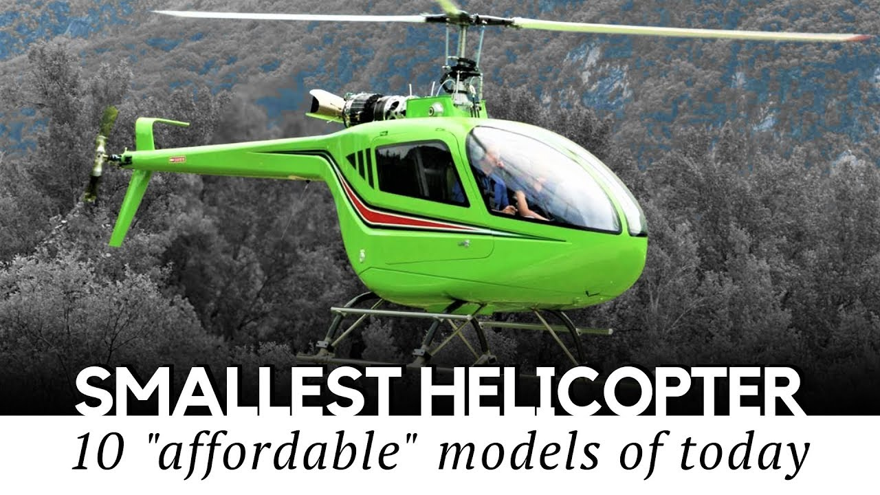 One helicopters mini man Homebuilt Ultralight
