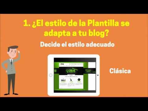 Cómo elegir el tema de WordPress para tu blog - YouTube