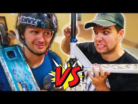 ULTIMATE RAYMOND VS STEVE GAME OF SCOOT!