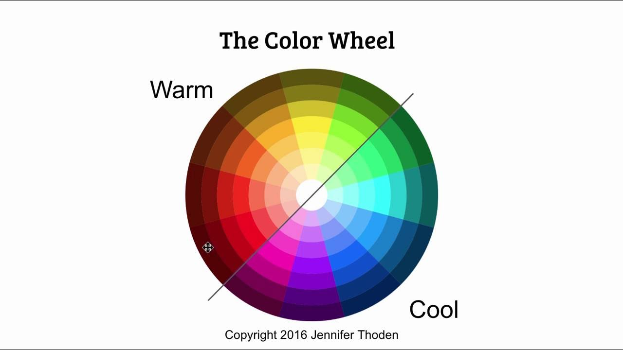 Color Theory Warm Red Vs Cool Red Youtube
