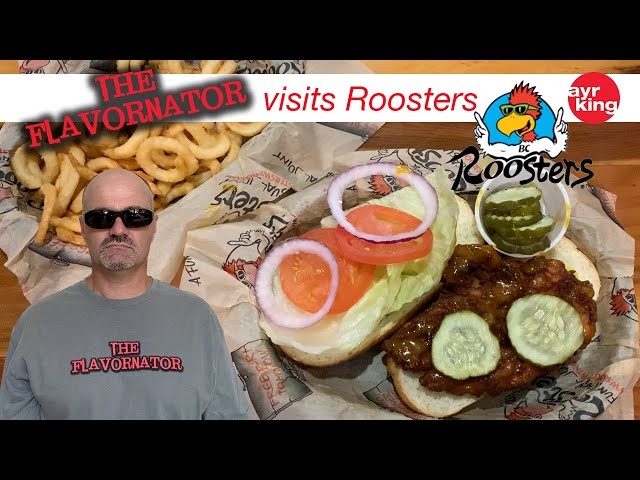 THE FLAVORNATOR VISITS: ROOSTERS