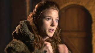 Rose leslie who plays ygritte explains her reunion with jon snow in game of thrones season 4 episode 9 ► http://bit.ly/entvsubscribewatch more our shows!t...