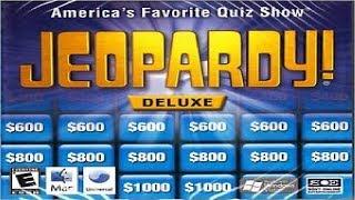 Jeopardy! Deluxe PC Solo Game Run