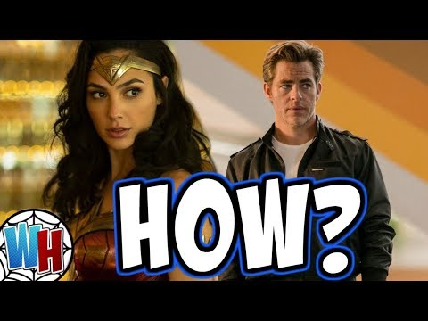 The REAL REASON Steve Trevor is Alive in Wonder Woman 1984