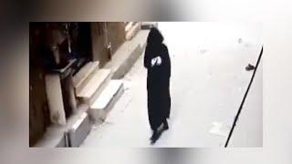 كاميرات المراقبة تكشف لحظة دخول المنتقب لقتل إيمان عادل في الدقهلية