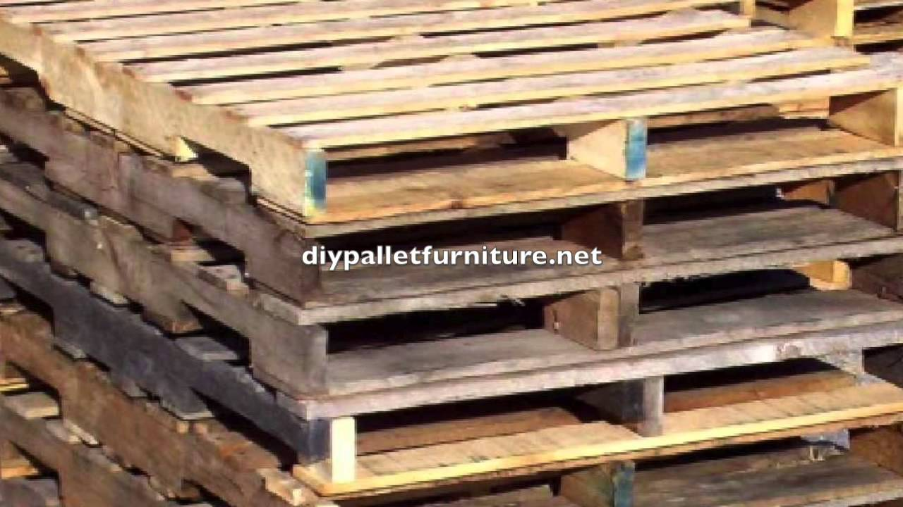 Diy Pallet Furniture Instructions 2 Youtube