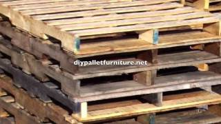 Diy Pallet Furniture Instructions 2
