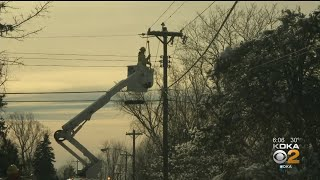 Crews Preparing For Power Outages During Impending Winter Storm