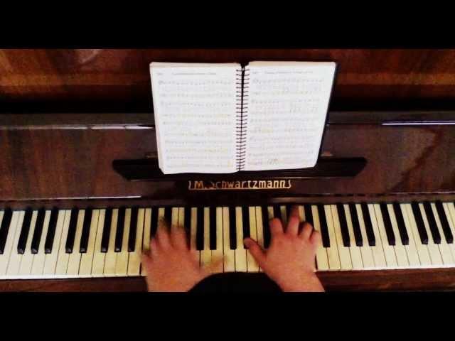 Hino 283 CCB Piano - Quero ó Senhor ir Contigo ao céu