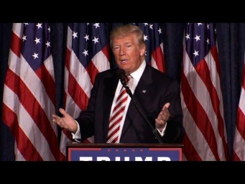 Trump's full National Security speech (entire speech)