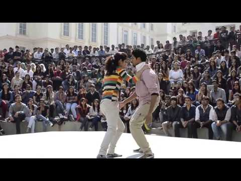 Lucknow Campus ! Indias Best College Dance 2016! Indian collage Couple dance