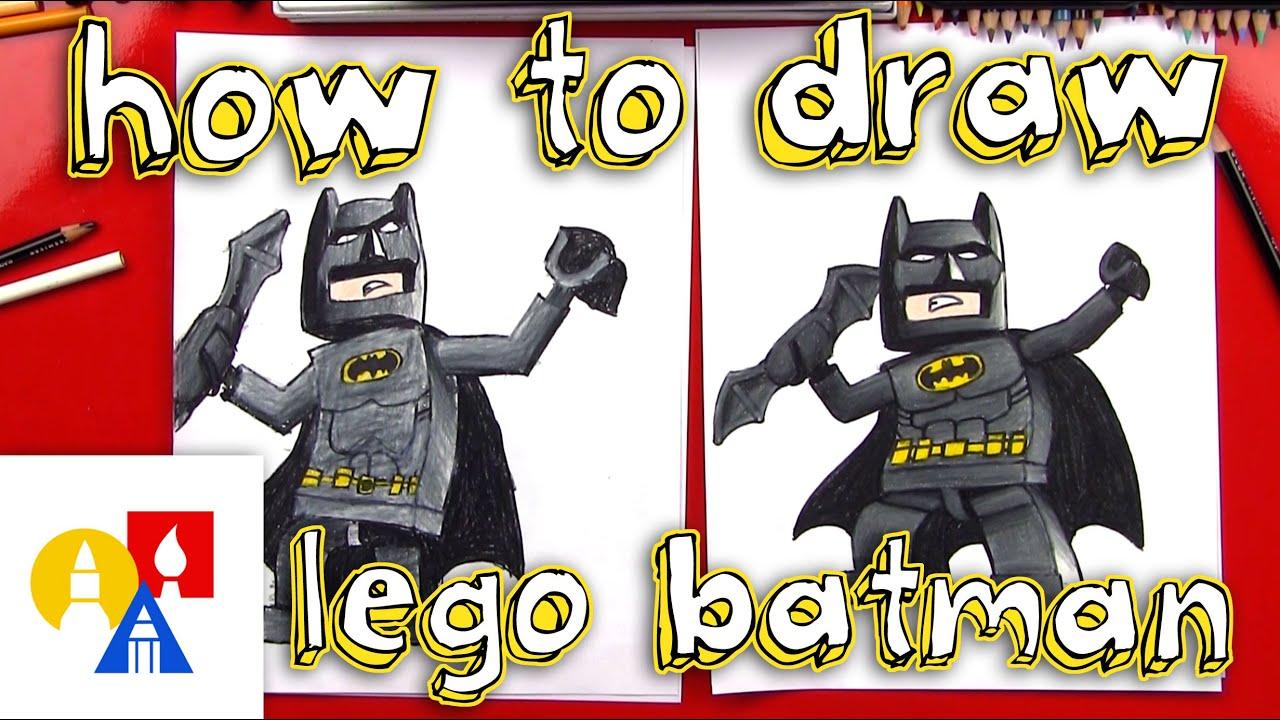 How To Draw Lego Batman YouTube