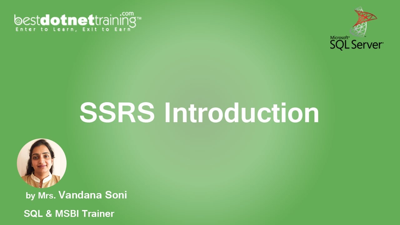 MSBI Tutorial for Beginners - What is SSRS - Basic Understanding SSRS -