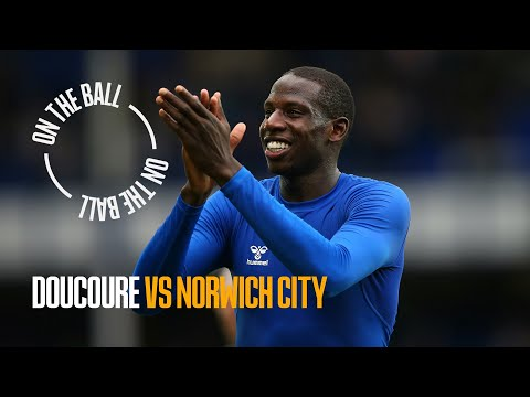 ON THE BALL: ABDOULAYE DOUCOURE PLAYER CAM VS NORWICH CITY