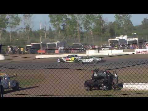 Jamestown Speedway Wissota Street Stock Heats (6/10/17)