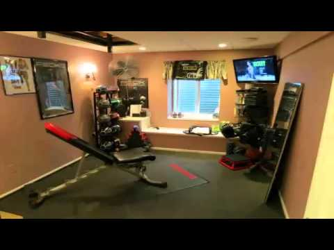 small home gym equipment designs youtube. Black Bedroom Furniture Sets. Home Design Ideas