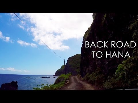 The Back Road to Hana, Maui, Hawaii