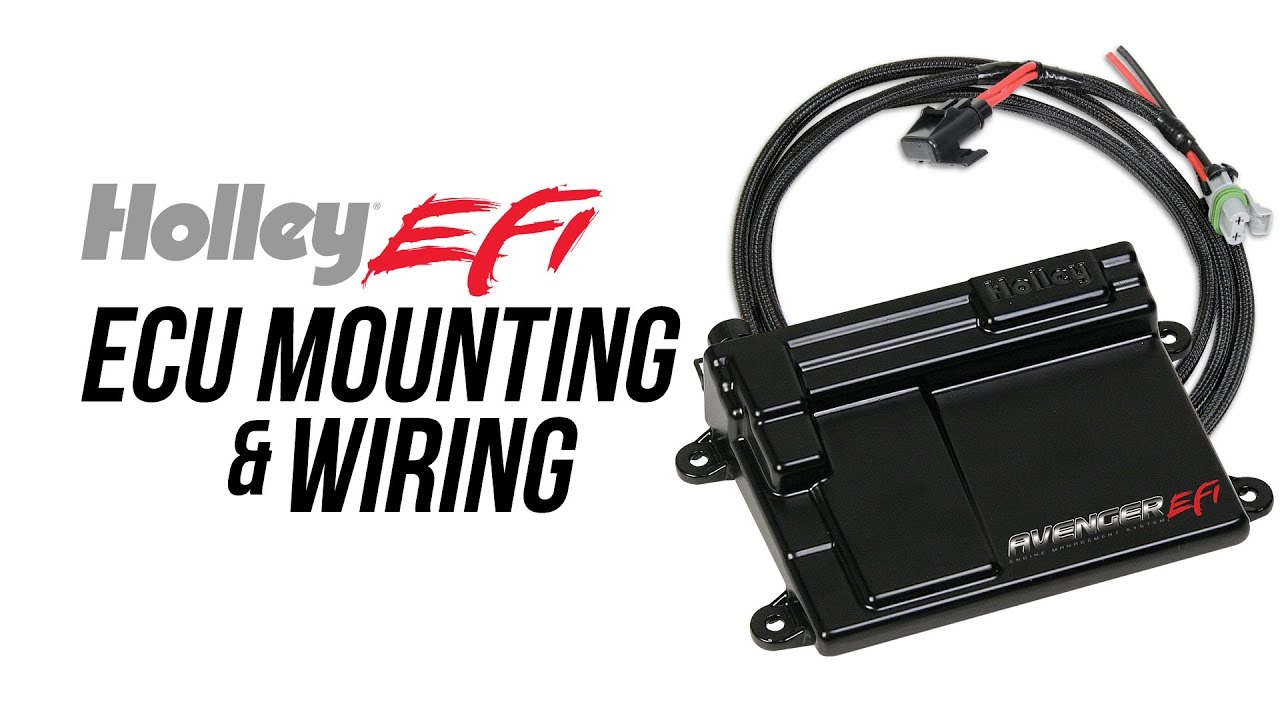 holley efi ecu mounting wiring [ 1280 x 720 Pixel ]