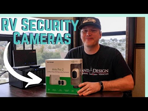 RV Security Camera: Arlo Pro 2 Unboxing, Installation and Review