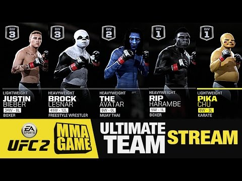 Ultimate TEAM STREAM EA SPORTS UFC 2 ONLINE GAMPLAY