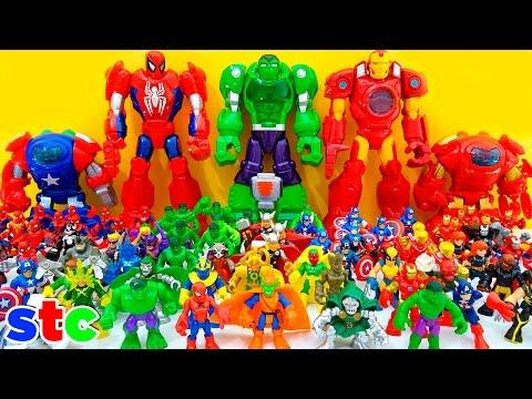 Playskool Heroes Super Hero Adventures Collection