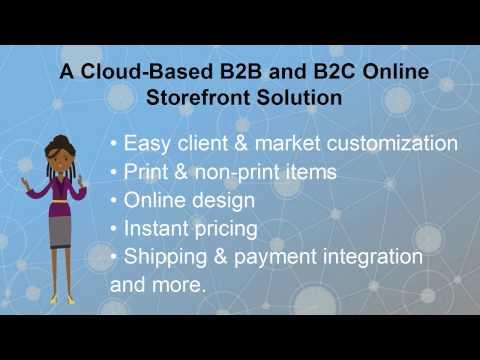 Web to Print B2B & B2C Storefronts