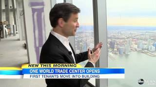 One World Trade Center Opens, 1st Tenants Move In
