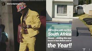DIAMOND PLATNUMZ Atangaza Kununua Nyumba Nyingine SOUTH AFRICA Kabla ya Mwaka huu Kumalizika!